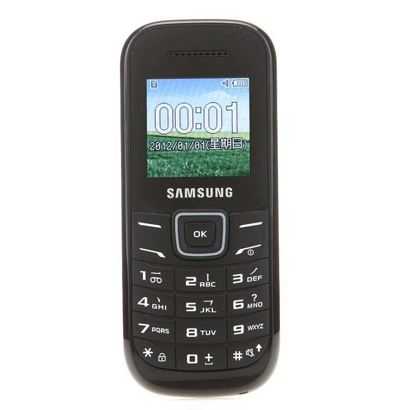 三星E1200M 三星简约实用非智能手机 GSM手机