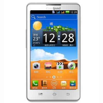 酷派5876 酷派双核手机开拓者3来袭 加密手机 双模双待手机