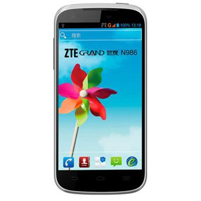 中兴 N986 3G手机 CDMA2000/GSM 双模双待双通