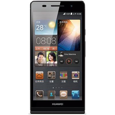 HUAWEI 华为Ascend P6  电信版  雅然  全球更薄四核手机