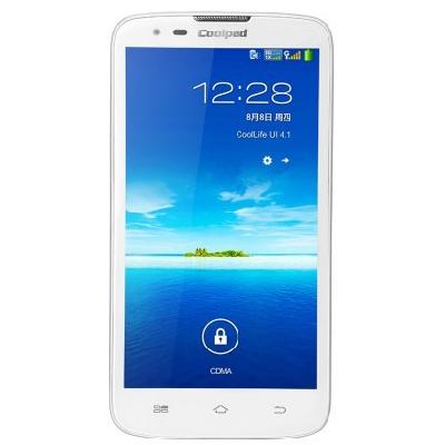 酷派5879 电信3G 四核1.2G 5英寸屏 加密手机 超薄手机