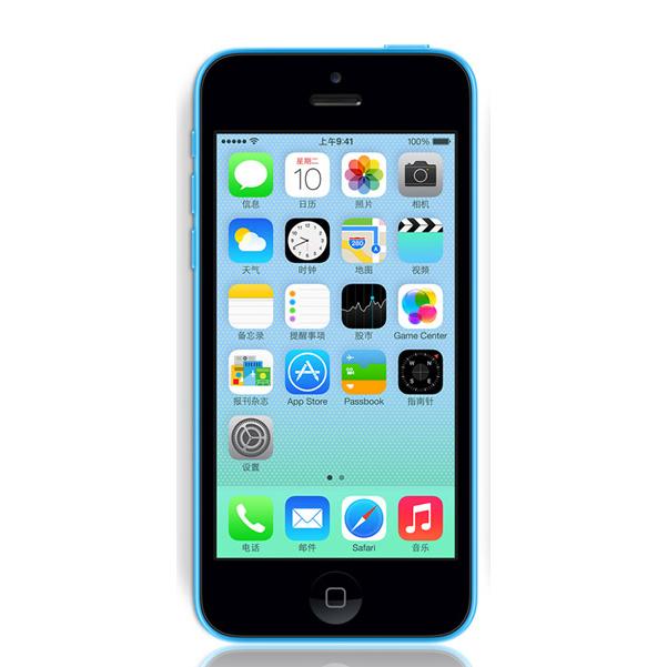 iphone5C/苹果5C 联通合约版 4英寸Retina屏 800万像素 双频WiFi