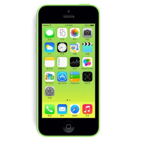 iphone5C/苹果5C 联通裸机版 4英寸Retina屏 800万像素 双频WiFi