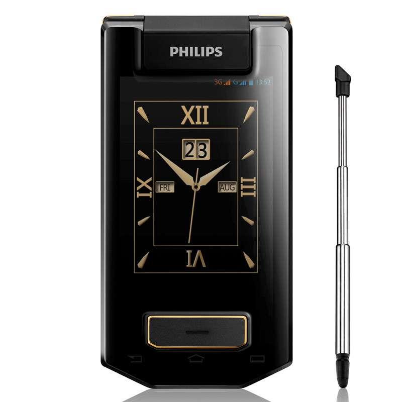 飞利浦 W8568 联通3G 四核双卡 迄今为止更快的飞利浦商务手机