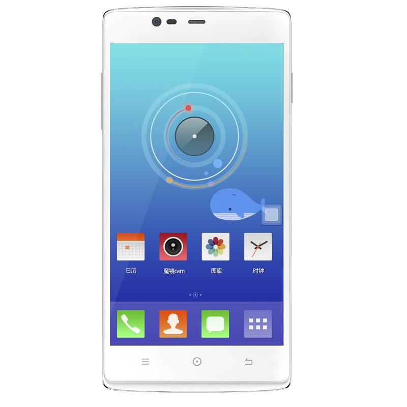 朵唯T60 5.5寸大屏四核 美颜4G手机 朵唯女性4G手机