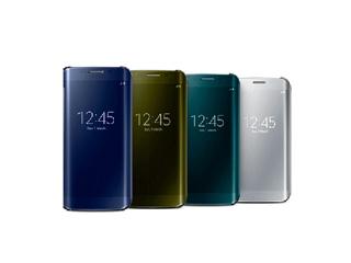 手机配件 三星S6/S6 edge高档镜面皮套