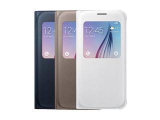 手机配件 三星S6原装开天窗智能皮套